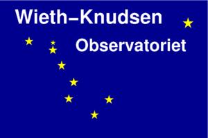 Wieth-Knudsen Obsevatoriets logo